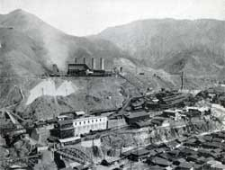 Ashio Copper mine