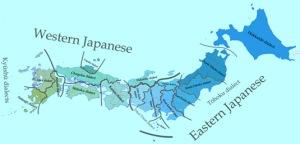 Imagen 01: dialectos de Japón.