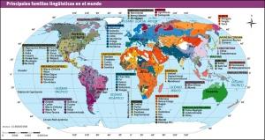 Imagen 02: familias lingüísticas.