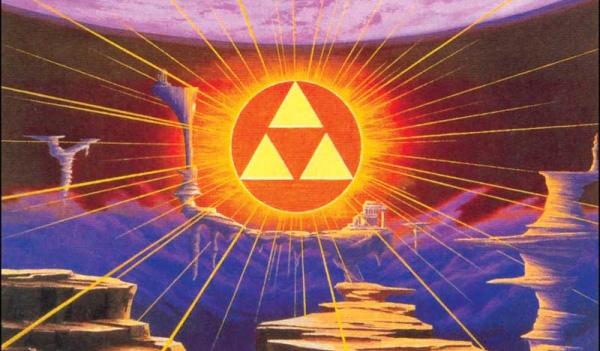 Imagen 01: Imagen de la Trifuerza en la Tierra Sagrada.