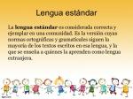 ¿Somos conscientes del nivel de registro lingüístico que aprendemos con la lenguaestándar?